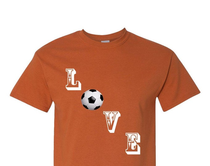 Love Soccer T-Shirt Soccer Moms Dads Kids Soccer Gift Tee, megan rapinoe shirt, USA Women's National, Proud American, love soccer t shirt,