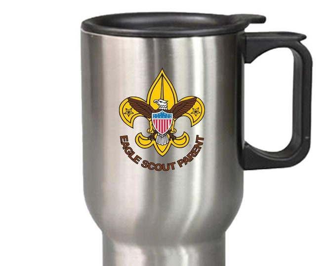 Judi - Eagle Scout Parent Travel Mug