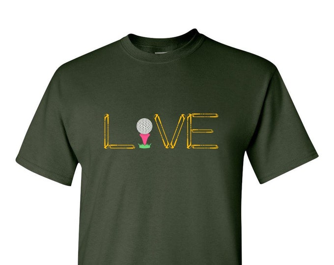 Golf Gifts for Men - Live Love Golf Shirts, Gift for men, women, best friend,