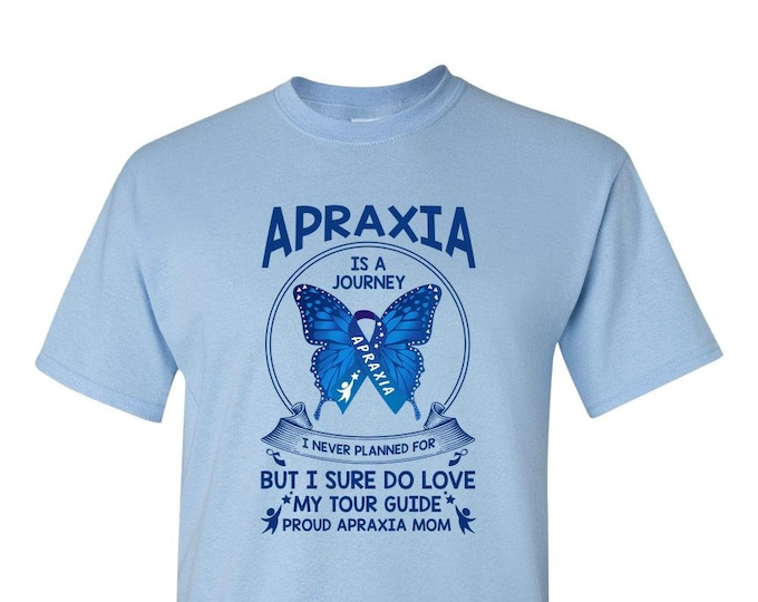 APRAXIA AWARENESS Mom TShirt, Every Child Deserves A Voice, Tour Guide Shirt, Adult Unisex T-Shirt,