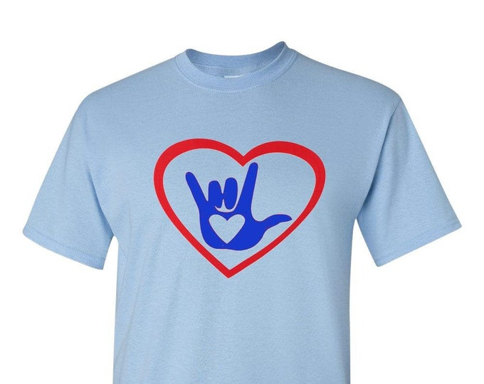 Love Sign Language, ASL Love Sign, Love Hand Sign, Sign Language art, American Sign, ASL I Love You, ASL shirt, Deaf Hands,