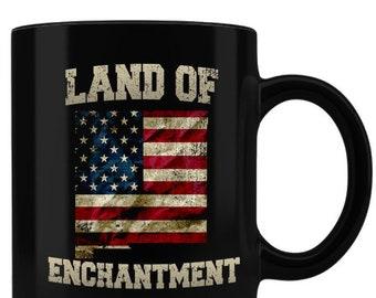 NM, Coffee Mug, New Mexico, Santa Fe, Albuquerque, White Sands, Carlsbad Caverns, Gift, Native American, Navajo, Pueblo, Mug, Enchantment,
