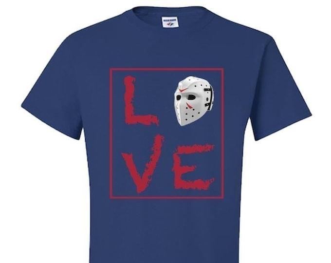 Hockey TShirt, LOVE, Gift for Men, Women, Best Friend,
