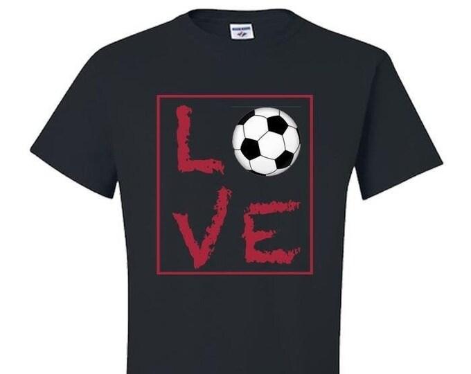 Soccer shirt, Soccer Mom Shirt, Gift, Gift for Women, Gift for Men, Best Friend Gift,  Live Love Soccer, world cup soccer