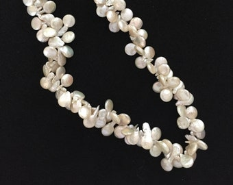 Fresh Water Petal Pearl Necklace
