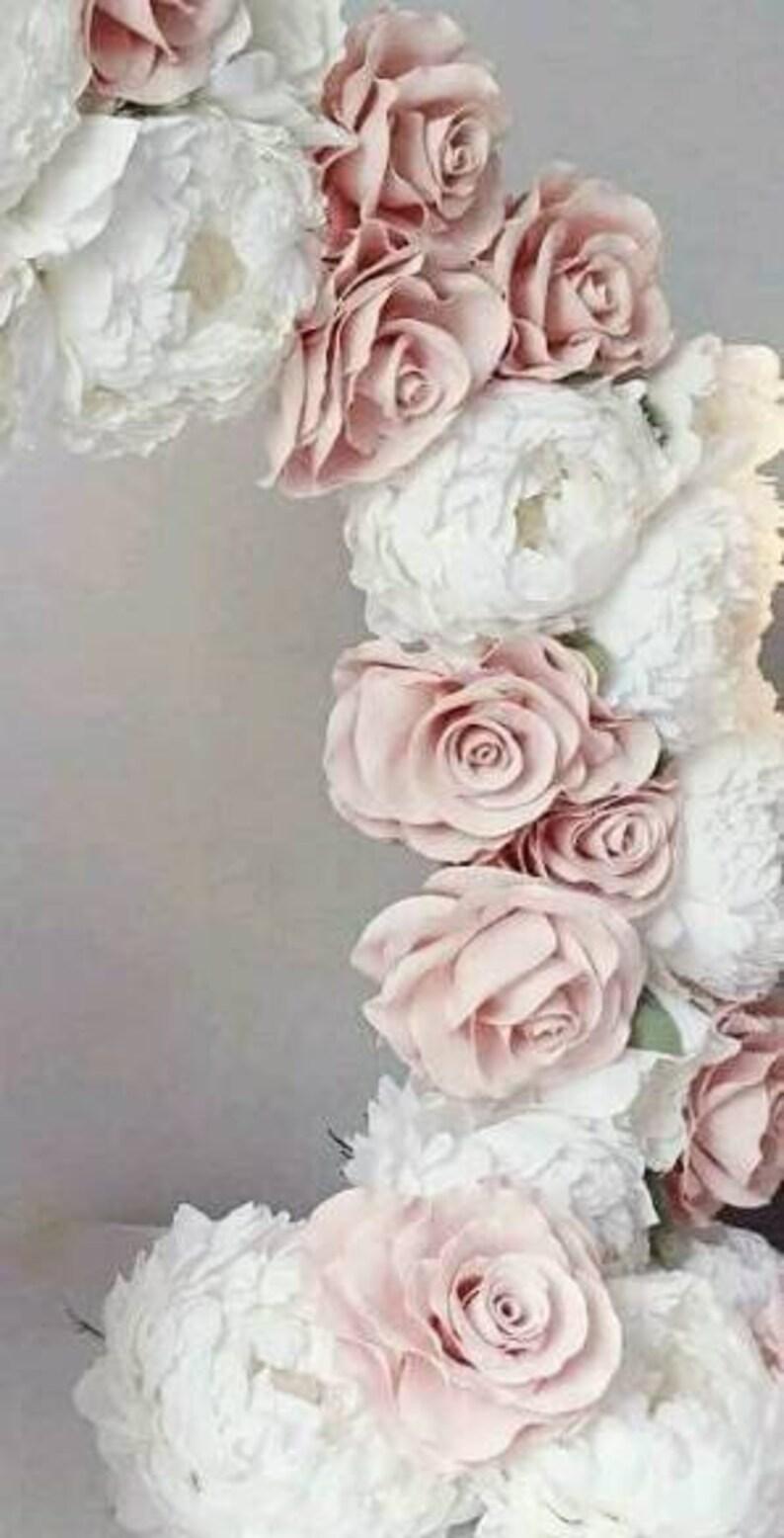 Extra Large Paper Flower Backdrop Wedding Decor Bridal Shower Wedding Arch Flowers Wedding Reception Flores De Papel Wedding Reception