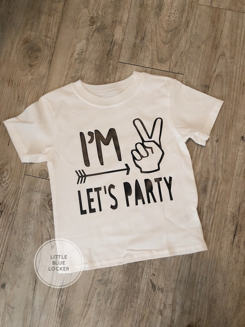 Birthday Boy Shirt Im 2 Toddler Clothing