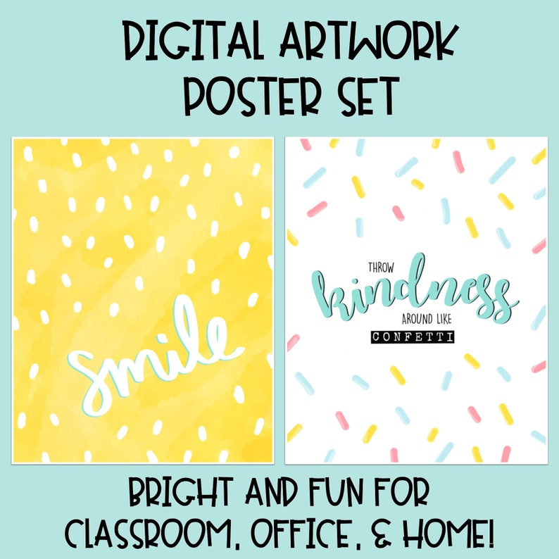 picture about Printable Classroom Posters known as Brilliant Printable Clroom Posters - Optimistic Estimates / Clroom Decor / Workplace Decor / Electronic Artwork / Improvement State of mind / Poster Artwork