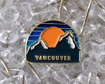 Vancouver enamel lapel pin