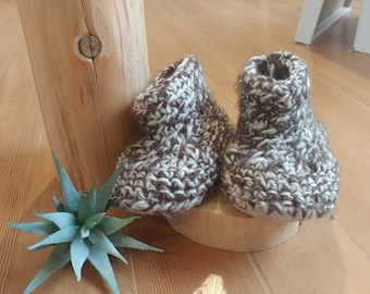Custom Made Sheepskin Soled Slippers
