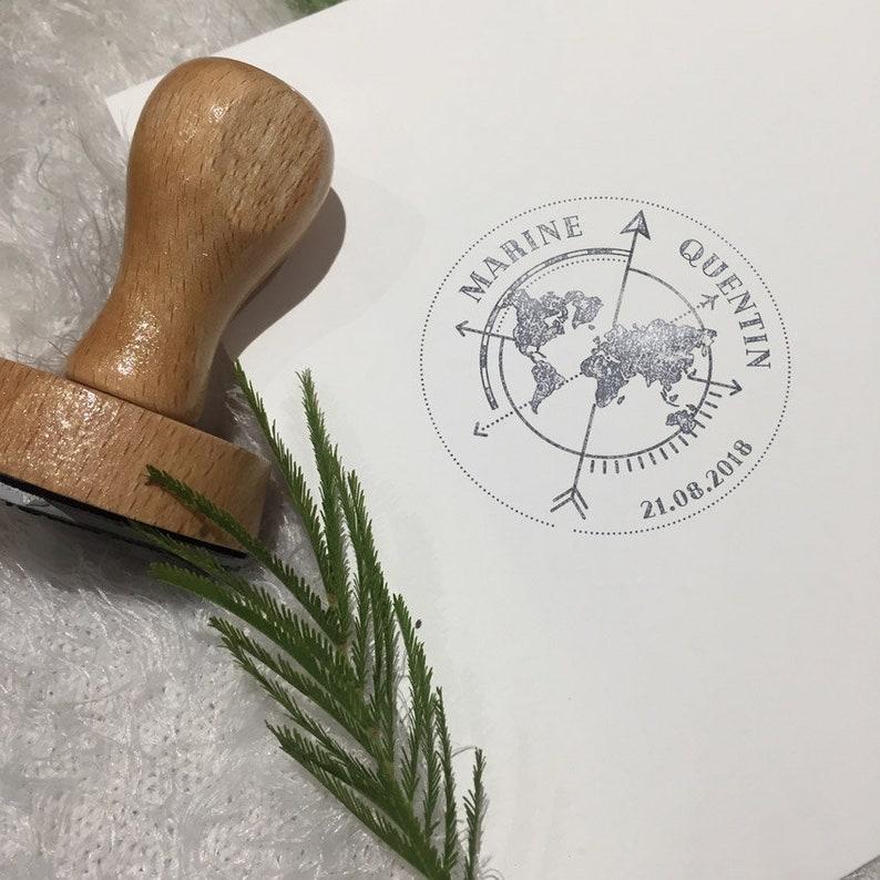 Hochzeitsstempel Kompass
