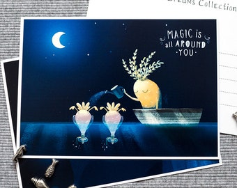 Magic is all around you. Magic dream (Nights' Dreams Collection).