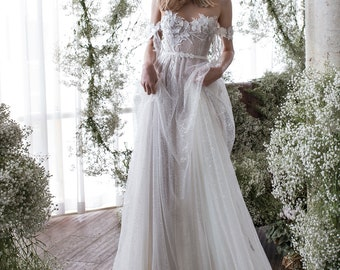 unique wedding dress etsy