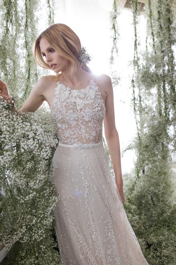 Handmade Wedding Dress Veronica Bride Dress | Etsy