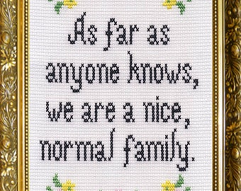 """5"""" x 7"""" Greeting Card - Nice, Normal Family"""