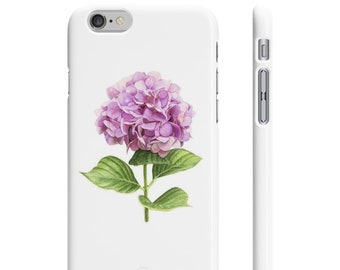 Botanical Hydrangea Iphone Case
