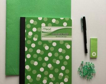 Kelly Green School/Office Supplies
