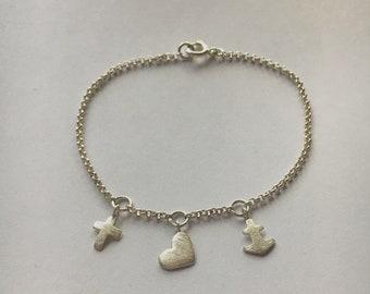 Faith Love Hope Bracelet