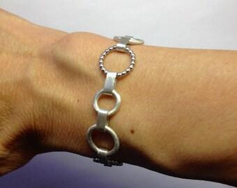 Silver Bracelet Spherical