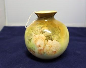 Antique RS Prussia Bulb Vase