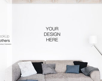 Sofa Mockup Living Room Mockup Mock Up Mockups Home Mockup