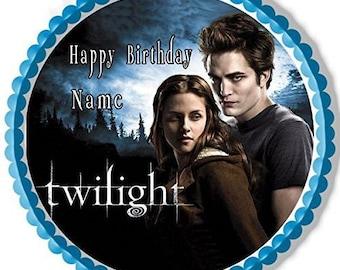 Twilight edible image