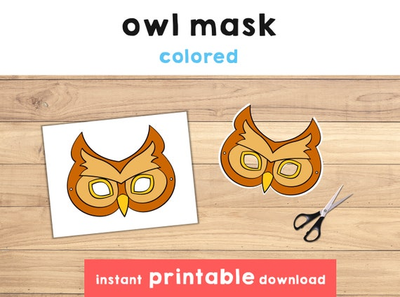 photograph about Printable Owl Mask named Owl dress Owl mask Animal mask printable Owl printable Owl social gathering Animal printable mask Woodland mask Animal bash - Immediate Obtain