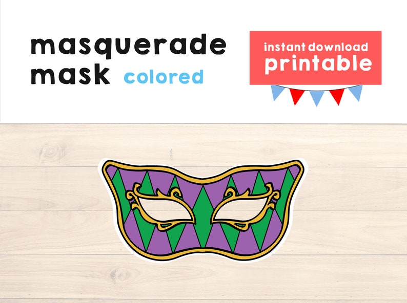image about Printable Mardi Gras Mask named Mardi Gras Mask Printable, Mardi Gras Dress, Mardi Gras Occasion Printable, Carnaval Mask Printable, Carnaval Printable - Quick Obtain