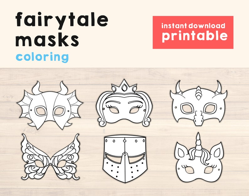 Dragon Mask Unicorn mask Monster Mask Fantasy Party Fantasy image 0