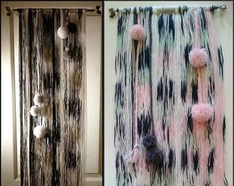 Hanging wall hanging, weaving, tapestry