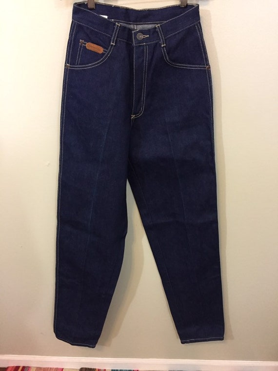 1980s Dark Blue Cherokee Deadstock Jeans