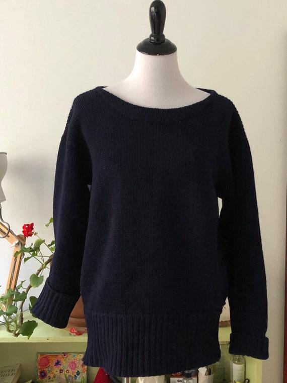 Vintage 1950s Lanza Varsity Sweater