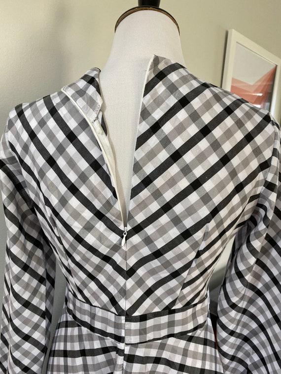 Vintage 1970s Gingham Maxi Dress - image 4
