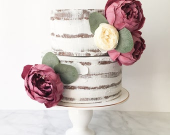 Naked Rustic Prop Cake