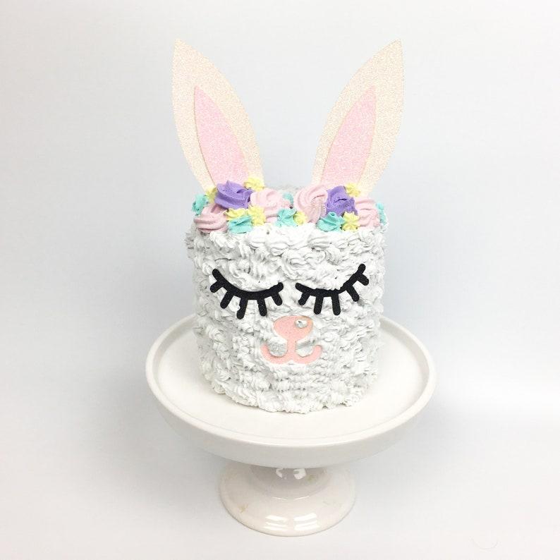 Easter Bunny Prop Cake Rabbit Fake Display