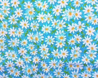 DESIGNER  QUILTING  FABRIC  Bold Floral On  Black  Cotton   NOW ONLY  2.49  F//Q