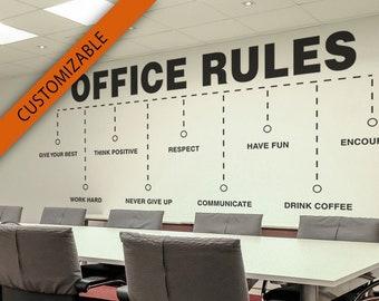 Office Wall Art | Etsy