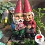 Fairy Garden Gnomes in Love