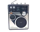 Vintage Toshiba Transistor Radio RP-1660MC FM AM cb Weather 4 Band Not Working