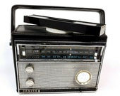 1962 Vintage Zenith Royal 790M Super Navigator Radio Transistor USA Made