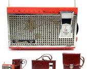 For Repair Vintage Emerson Transistor Radio Eldorado Mid Century Modern MCM Not Working