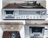 For Repair or Restoration Only, Zenith Record Player Radio Cassette Stereo Receiver System Model IS 4130, Not Working