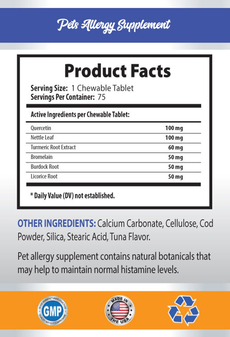 dog allergies skin - Pet Allergy Relief - For Dogs And Cats - Advanced  Formula - turmeric for dogs with allergies - 2 Bottle (150 Chews)