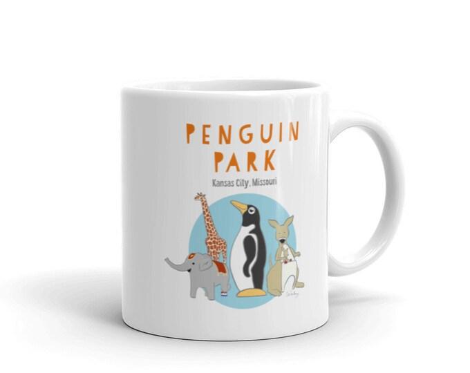 Penguin Park Mug
