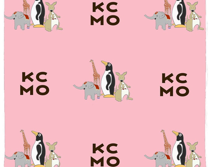 Penguin Park / KCMO Square Pet Bandana