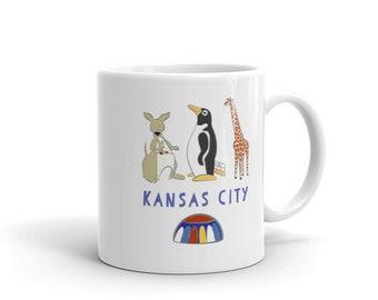 Penguin Park Kansas City Mug