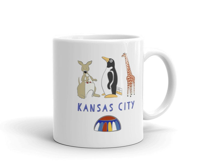 Penguin Park Kansas City Mug