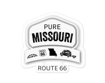 Pure Missouri Route 66 bubble-free stickers
