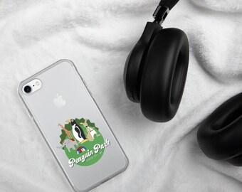 Penguin Park Animals iPhone Case