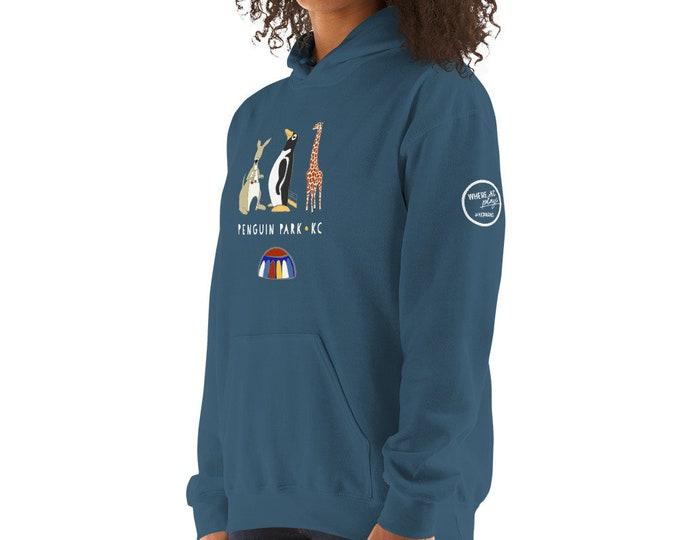 Penguin Park KC - Hooded Sweatshirt